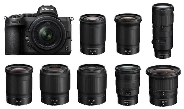 كاميرا نيكون Z5