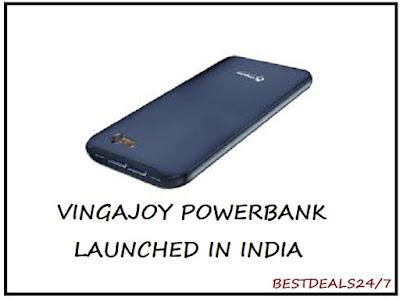VingaJoy Launches New Powerbank in India
