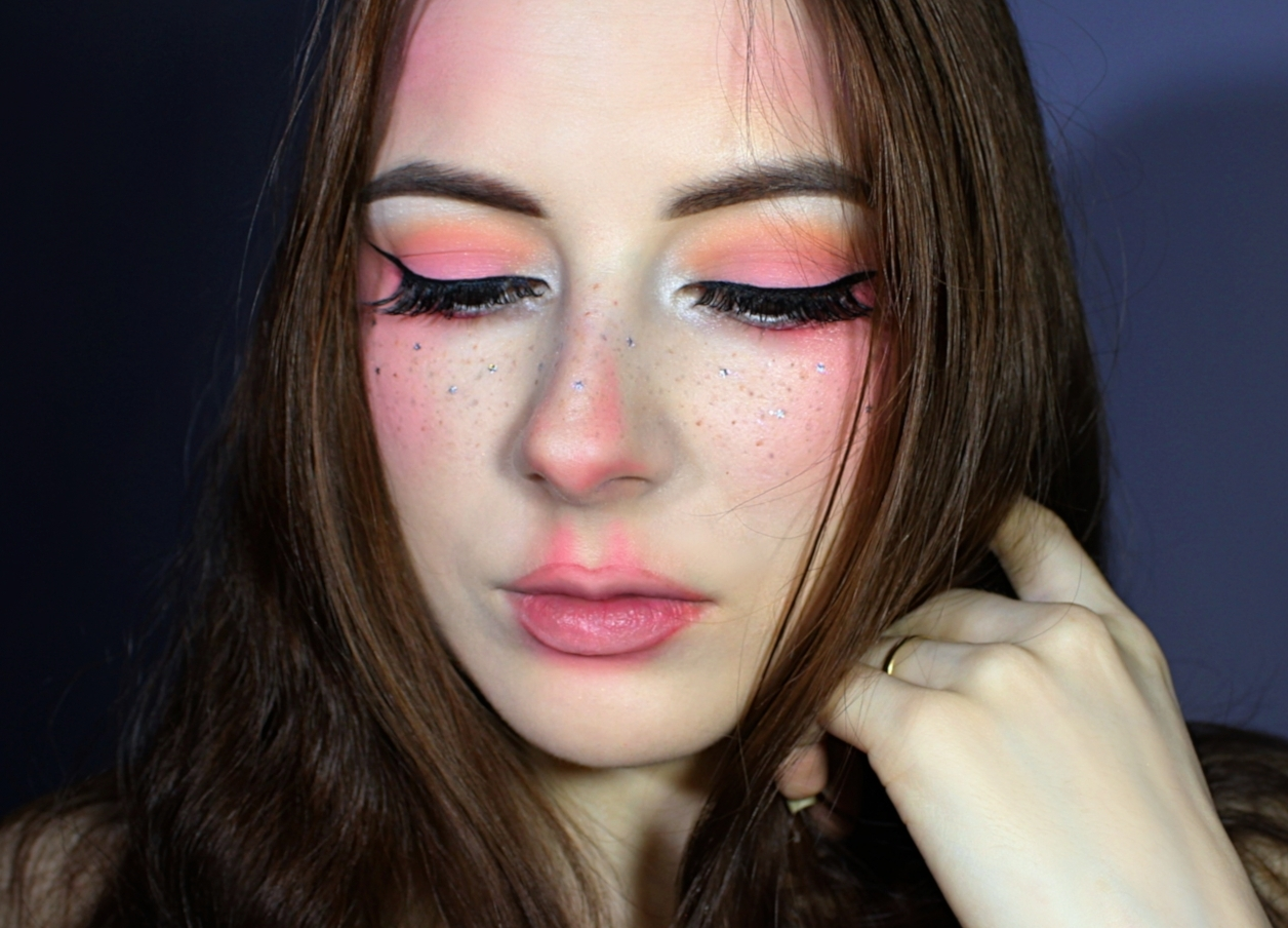 freckle fairy makeup look