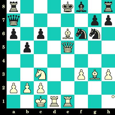 Les Blancs jouent et matent en 2 coups - Boris Spassky vs G Gilquin, Bastia, 1997