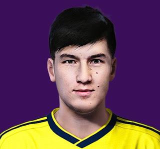 PES 2020 Faces Eldor Shomurodov