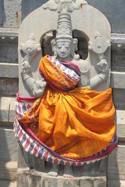 Hindu Goddess kirata moorati photo