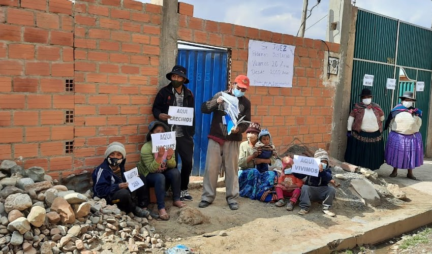 Loteadores pretenden despojar a vecinos de la Urbanización 27 de Septiembre