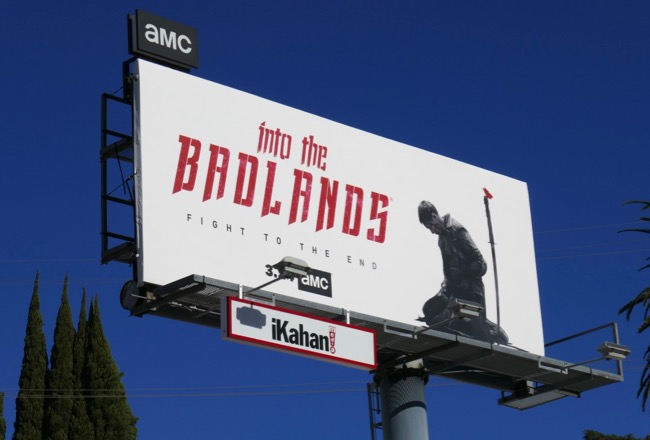 Into the Badlands final episodes billboard