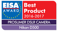 Nikon D500 honoured with prestigious EISA Award