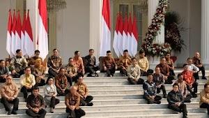 Daftar Lengkap Susunan Kabinet Indonesia Maju 2019-2024
