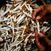 Kejaksaan Negeri Klaten Musnahkan 410.600 Linting Rokok Tanpa Cukai