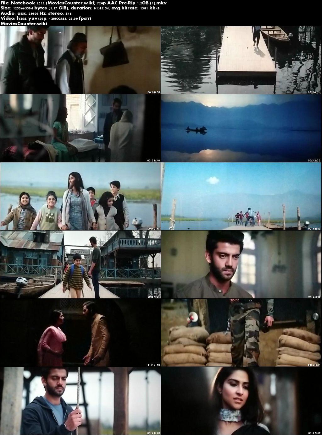 Screen Shots Notebook 2019 Hindi HD 720p