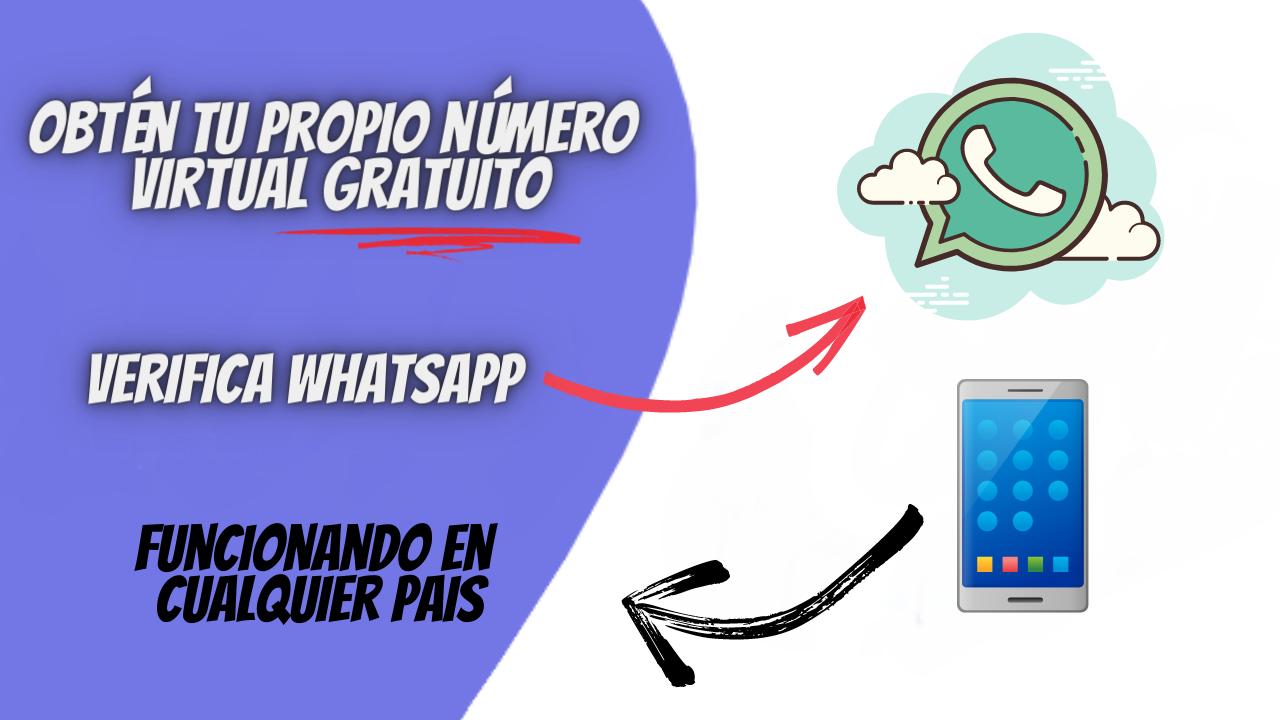 Numero virtual para WhatsApp
