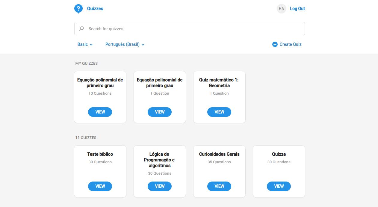 Quizzes educacionais do Telegram