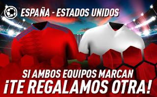 sportium promo mundial femenino España vs Estados Unidos 24 junio 2019