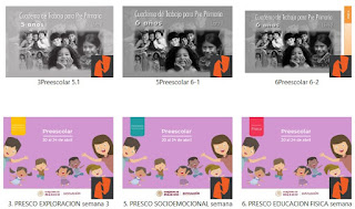 Preescolar Materiales de Estudio para Aprendizaje en Casa