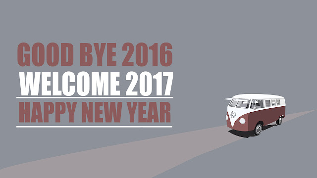 Image Of Gud bye 2016 And Welcome to 2017