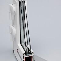 Дверные профили 70 мм  Система сочетает в себе особую элегантность внешнего вида и высокие энергосберегающие показатели.