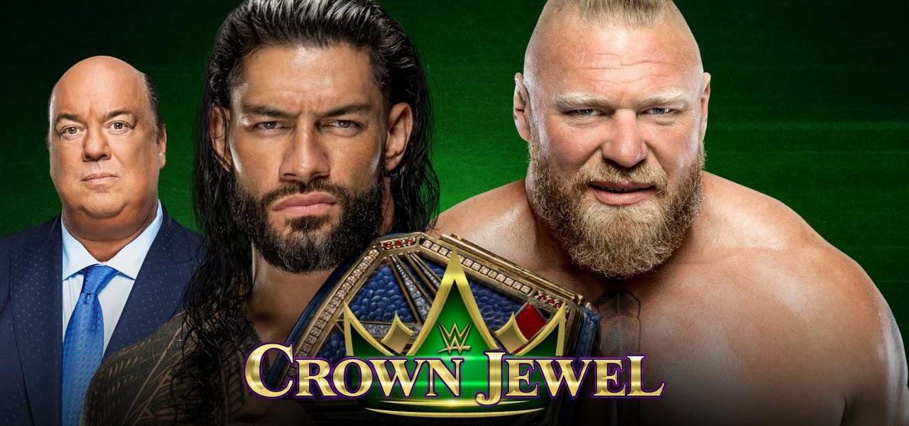 Roman Reigns vs. Brock Lesnar acontecerá no WWE Crown Jewel 2021