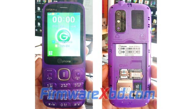 Gphone GP28Plus Flash File 6531E Official Firmware 100% Tested