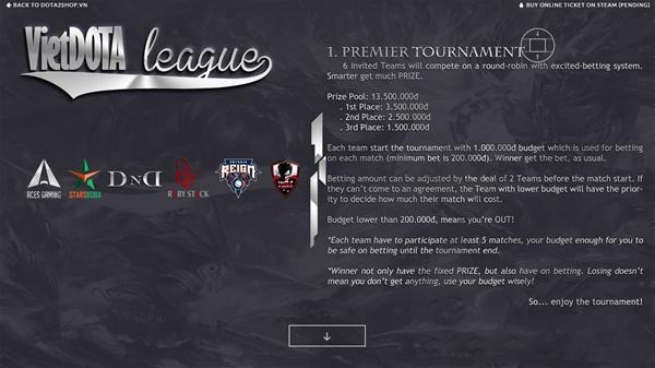 vietdota league 4 - Điểm lại những giải đấu Dota 2 lớn từng được tổ chức tại Việt Nam (Phần 2)