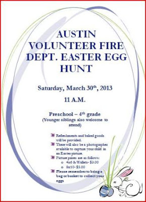 3-30 Easter Egg Hunt--Austin VFD