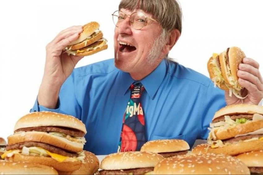 Donald gorsk burger freak eats sandwich #32,340 An American obsessed with eating burgers has raised his record for eating a Big Mac to 32,340 he has eaten since 1972, according to the Guinness World Records.