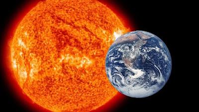الأرض والشمس - أرشيفية
