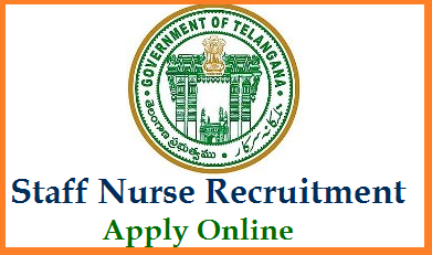 Online Applications are invited to fill up 2157 Staff Nurse Vacancies in Telangana Government Hospitals. Check eligibility criteria for the post of Staff Nurse in TS Govt Hospitals on outsourcing basis. Last date to submit Application Form Online for Staff Nurse in Telangana. Applications are invited online www.health.telangana.gov.in and at http://odls.telangana.gov.in/medicalrecruitment/Home.aspx from eligible candidates to fill up 2,157 Posts of Staff Nurse on Outsourcing basis in Government Hospitals and to work in various Schemes of the Government initially for a period of one year, extendable as per need.