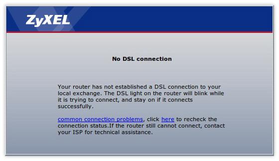 Internet Auto Restart Modem ZyXEL