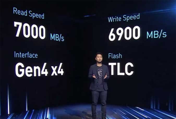 SSD Berkecepatan 7000 Mbps dari MSI Khusus Gamer
