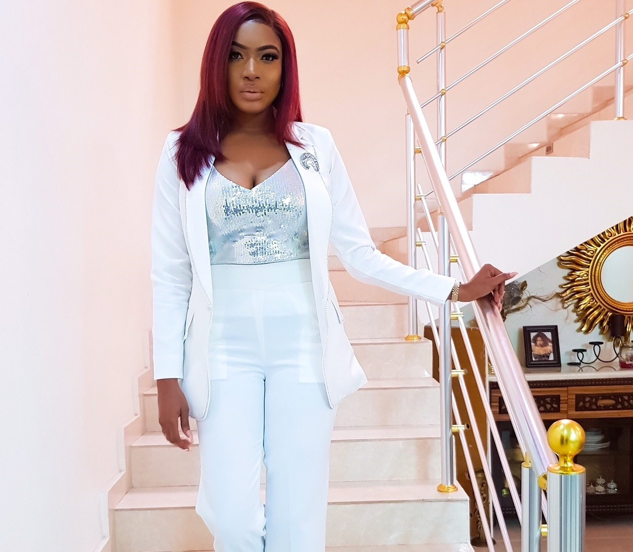 Chika Ike shares new lovely pics during the Launch of her new book, Boss Up