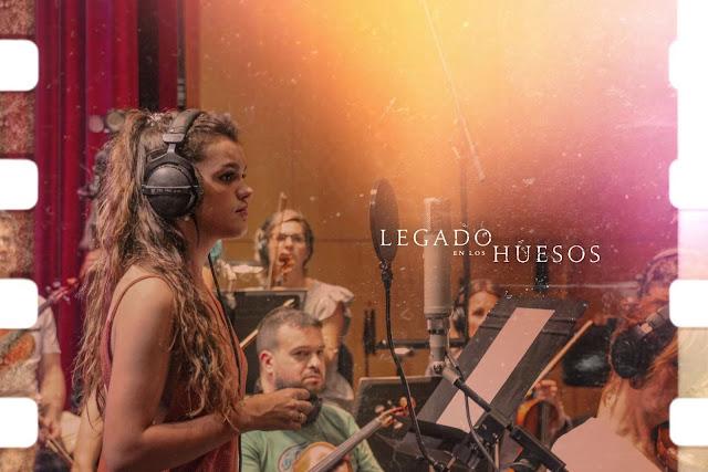 Amaia Operación Triunfo canta tema principal de 'Legado en los huesos'