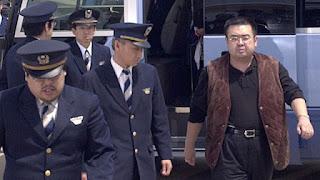 Empat orang yang kini masih buron tersebut diduga mata-mata dari Korut yang beroperasi di Malaysia.