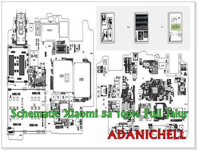 Schematic Xiaomi Redmi 5a 100% Full Jalur