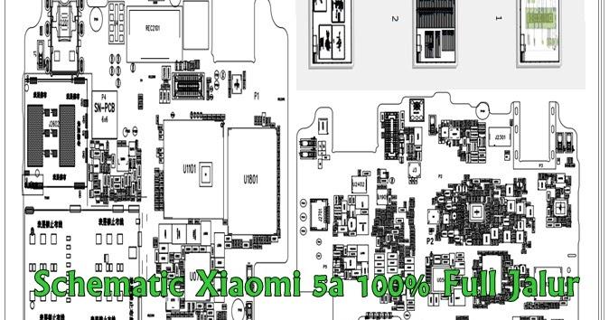 Schematic Xiaomi Redmi 5a 100  Full Jalur