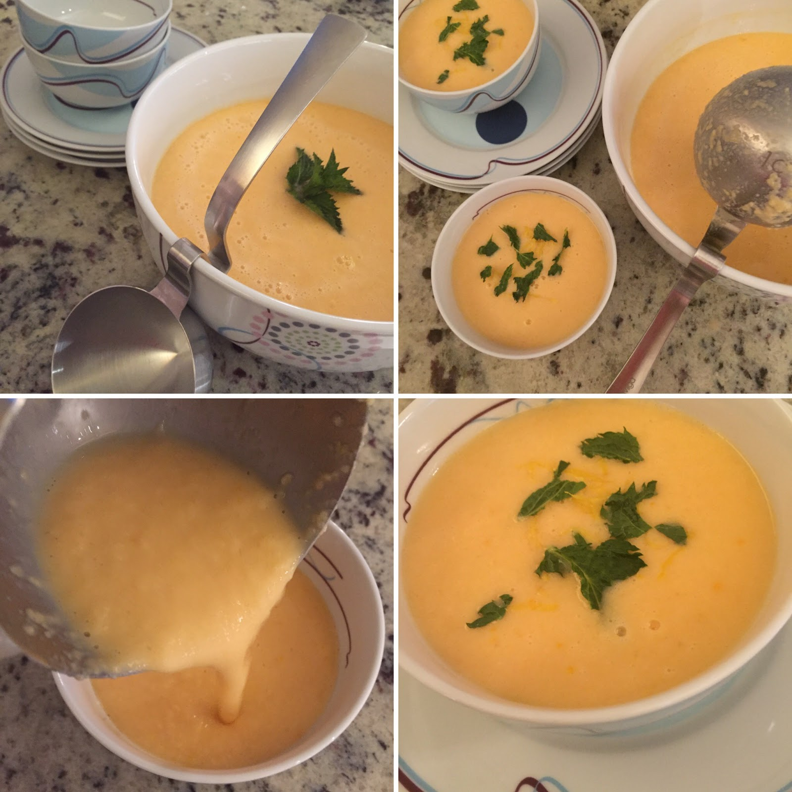 Livliga® Live Vibrant Blog: Chilled Cantaloupe Soup with Fresh Ginger