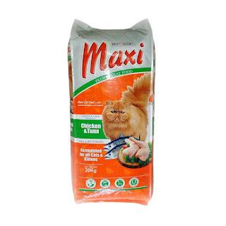 Cat food maxi premium