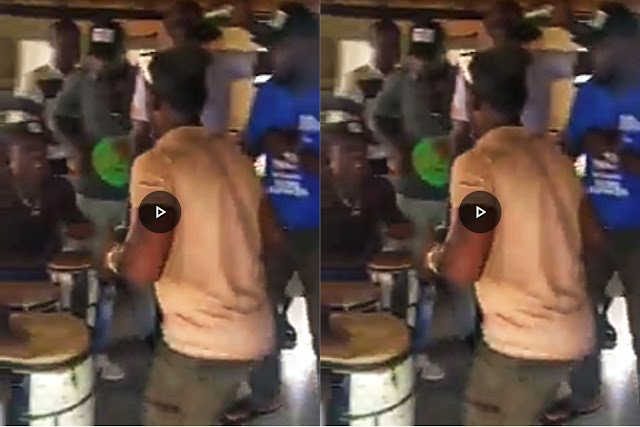 Oshiomole's Boys Celebrating Obaseki's disqualification (Video)