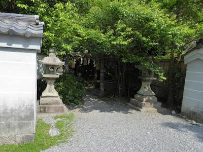 宗像神社の西側にある鳥居