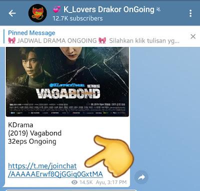Channel Grup Drakor Telegram Subtitle Indo