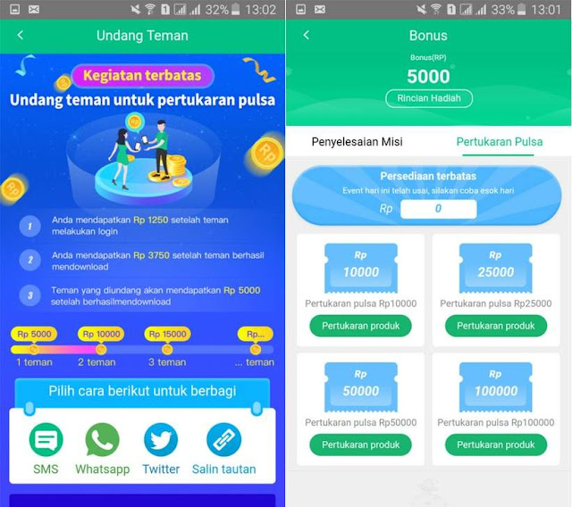 DanaBonus, Aplikasi Penghasil Pulsa Paling Cepat Terbaru 2020