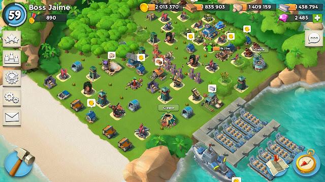 تحميل لعبة بوم بيتش مهكرة 2019 جاهزة للاندرويد آخر إصدار | Boom Beach