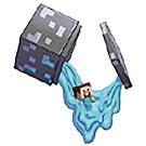 Minecraft Steve? Slime Capsules Figure