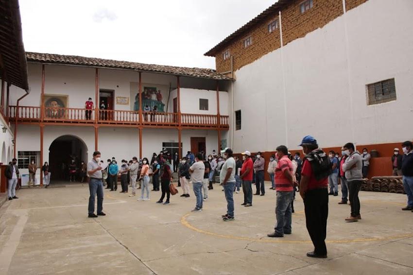 Sólo martes y viernes podrán ingresar vehículos a Cajabamba