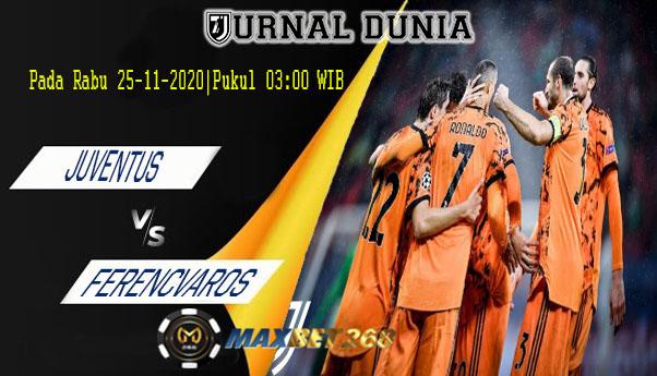 Prediksi Juventus Vs Ferencvarosi, Rabu 25 November 2020 Pukul 03.00 WIB