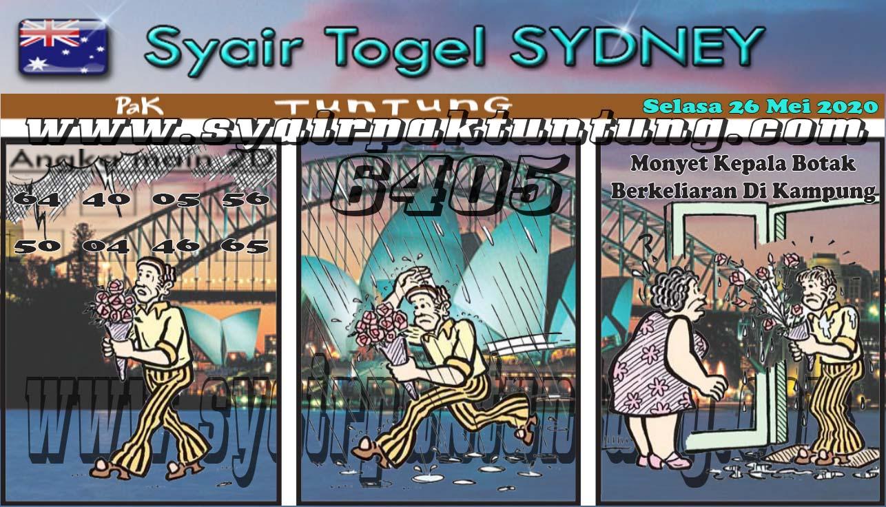 Prediksi Sydney Selasa 26 Mei 2020 - Pak Tuntung