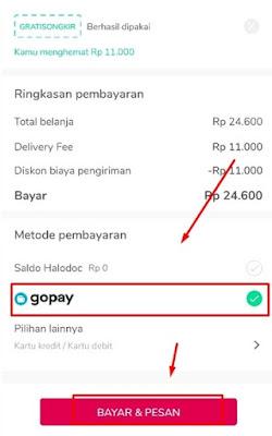 Metode Pembayaran GOPAY