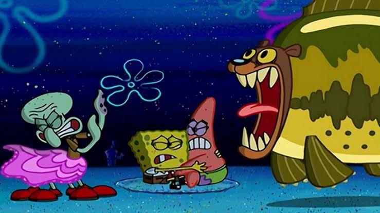 Larangan Yang Tidak Boleh dilakukan di Alam Liar Spongebob