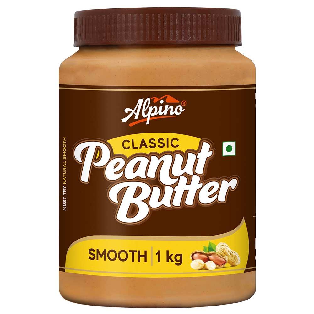 Alpino Classic Peanut Butter Smooth, 1 kg
