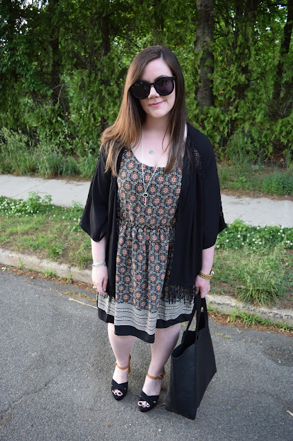 Sequins and Skulls: Art Class Dress
