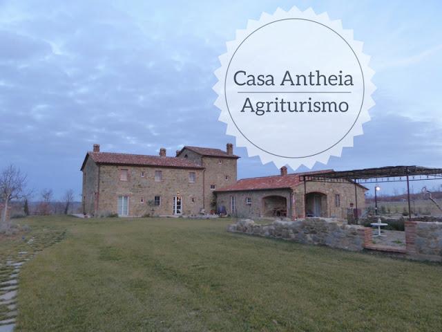 Dormire in un agriturismo in Umbria Casa Antheia