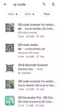 QR Code को Scan कैसे करे?
