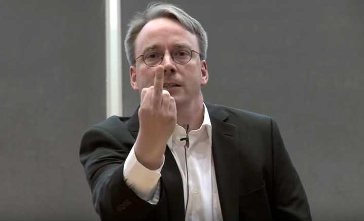 Fuck You, Makian Linus untuk Nvidia